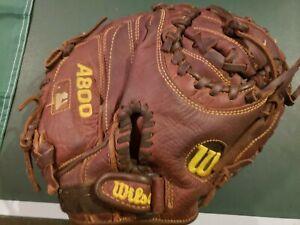 "Wilson A800 Game Ready SoftFit 32"" Youth Catchers Baseball Mitt"