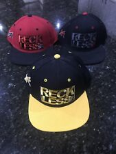3 YOUNG AND RECKLESS MATCHING SNAPBACK HAT LOT SKATER SKATEBOARD BRAND PACSUN