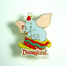 Disney Dumbo as Santa Theres Magic in the Air Travel Agent Pin With Card Rare