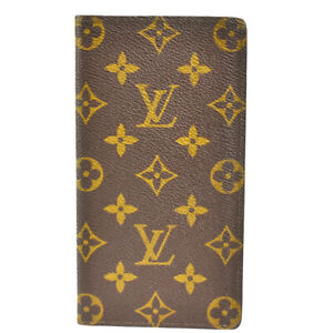 LOUIS VUITTON Porte Cartes Credit Yen Long Wallet Monogram Brown M60825 09JE480