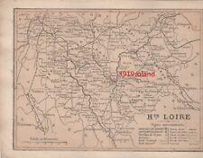 La Haute Loire Département France - Carte ancienne début XXème siècle