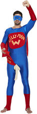 Willy Man Superhero Adult Mens Fancy Dress Costume Stag Do Party Night