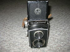 Rolleicord II Model 1 K3 Camera With Case Serial Number 3316712