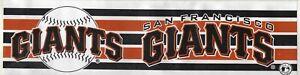 Lot of 2 1994-Present San Francisco Giants Bumper Stickers
