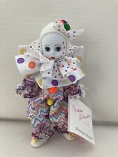 Madame Alexander 8� Bubbles The Clown 1993 Doll #342 With Box And Tag Americana