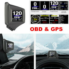 Universal Heads Up Display HUD Vehicle OBD & GPS Compass HUD Monitor System