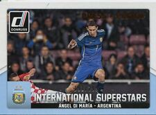 Donruss Soccer 2015 Bronze [299] Int. Superstars Chase Card #3 Angel Di Maria