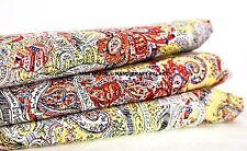 Handmade Cotton Hand Block Printed Fabric Ethnic Indian Floral 10 Yard Fabric