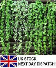 Flores secas y artificiales decorativas guirnaldas color principal verde para el hogar