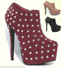 Clubwear Slim Heel Ankle Boots for Women