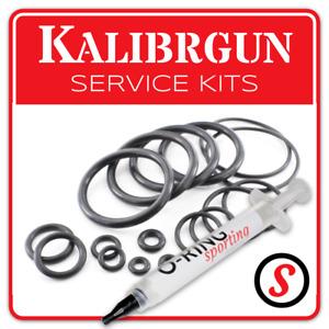 KALIBRGUN Kaliber O Ring Seal washer service kit - ALL MODELS + OPTIONAL GREASE