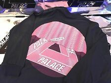 PALACE SKATEBOARDS FW16 TRI CURTAIN XLARGE NAVY LONGSLEEVE LS TEE XL BLUE FERG