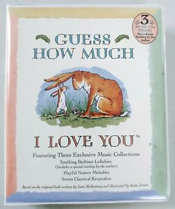 Guess How Much I Love You - 3 Disc Lullaby Music CD's - McBratney/Jeram