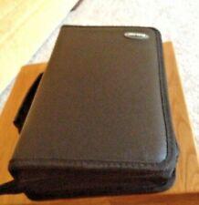 New Black Zipped CD Case