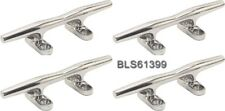 "(4) Stainless Steel 6"" BOAT CLEAT Deck Dock Raft Marine Rope Line Tie-Off Holder"