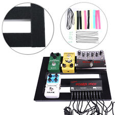 37*27cm Medium Mr.Power Guitar Pedal Board Pedalboard with Loop + Septup kits
