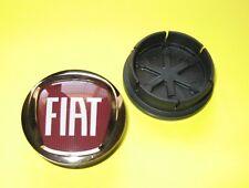 FIAT RITMO PUNTO & MORE RED WHEEL CENTRE GENUINE FIAT