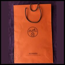 Authentic Hermes Paper Shopping Bag FREE POSTAGE Size 28 x 43 x 10cm