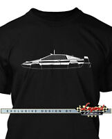 Lotus Esprit S1 James Bond 007 Submarine Men T-Shirt - Multiple Colors and Sizes