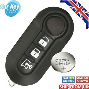 Replacement Key Fob Cover For Ducato Citroen Relay Peugeot Boxer 3 Button Fob