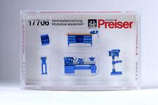 Preiser Workshop Equipment 17706 HO Scale (suit OO Also)
