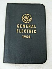 Advertising 1954 General Electric Diary  Sales  Service Products   T75