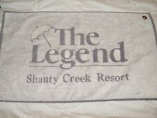 Two (2) New/Other Golf Towels Shanty Creek and Cedar River