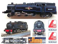 LIMA 252 VINTAGE '1980 Steam Locomotive 2-6-4 BR80-033 BRITISH RAILWAYS SCALA-N