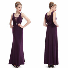 Polyester V-Neck Women's Special Occasion Long Dresses