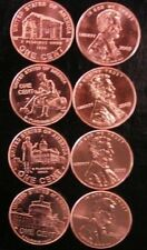 Complete Set 2009-P & D LINCOLN SET all 4 DESIGNS  Red Uncirculated 8 Coins