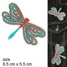 Dragonfly Iron on patch dragon fly pond insect fly embroidery iron-on patches