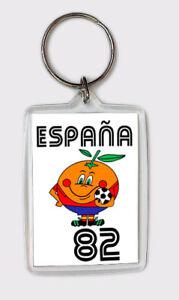 LLAVERO NARANJITO ESPAÑA 82 KEYRING