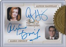 Buffy The Vampire Slayer Ultimate Collector'S Set 3 Hannigan Denisof Dual Auto