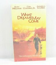 What Dreams May Come Vhs Robin Williams Cuba Gooding,Jr. Sealed