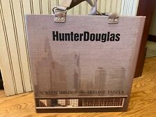 Hunter Douglas screen Shades, Skyline salesman sample book