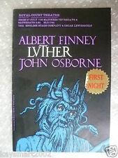 1961 Theatre Programme LUTHER- Albert Finney,John Osborne,O Lewenstein
