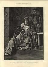 1889 Caton Woodville Illustration Of Cleopatra Story Amenemhat