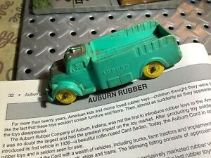"1936 Auburn Rubber Stake Truck Rare 4 1/2"" Long"