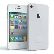 Schutz Hülle für Apple iPhone 4 / 4S Cover Handy Case Matt Transparent