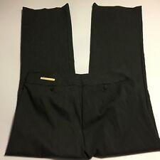 Lane Bryant Lafayette Charcoal Gray Dress Pants NWT Flat Front Sz 14 Tall