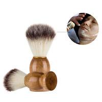 Men Convent Shaving Bear Brush Badger Hair Shave Wood Handle Razor Barber Tool 4