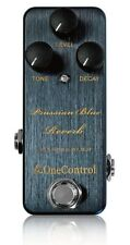 One Control Prussian Blue Reverb Guitar Effect Pedal