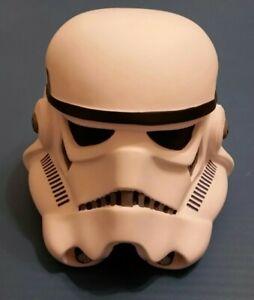 Star Wars Vinyl Stormtrooper Helmet Piggy Bank - 2009, Disney Parks, nice cond.