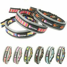 Pet Collar Reflective Soft Fashion Print Small Medium Large Dog Adjustable Strap