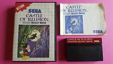 CASTLE OF ILLUSION Starring Mickey Mouse / jeu MASTER SYSTEM SEGA / PAL