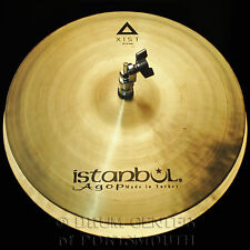 "Istanbul Agop Xist Natural Hi Hat Cymbals 15"" - Video Demo"
