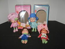 Lot of Vintage Strawberry Shortcake Raspberry Tart Blueberry Muffin Dolls boxes