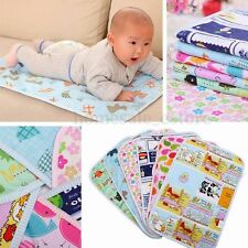 Hot Cotton Baby Changing Pad  Cover Burp Waterproof Urine Mat Color Random CH