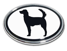 Irish Setter Chrome Car Truck Emblem High Quality Made in the USA! *NEW*