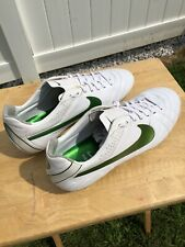 Nike Tiempo Legend IV SG US10.5 Made in Italy 999999999 White Green